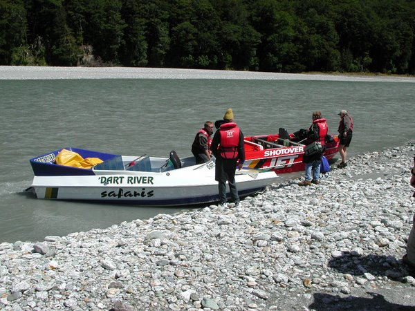Jet Boats on the Dart River
